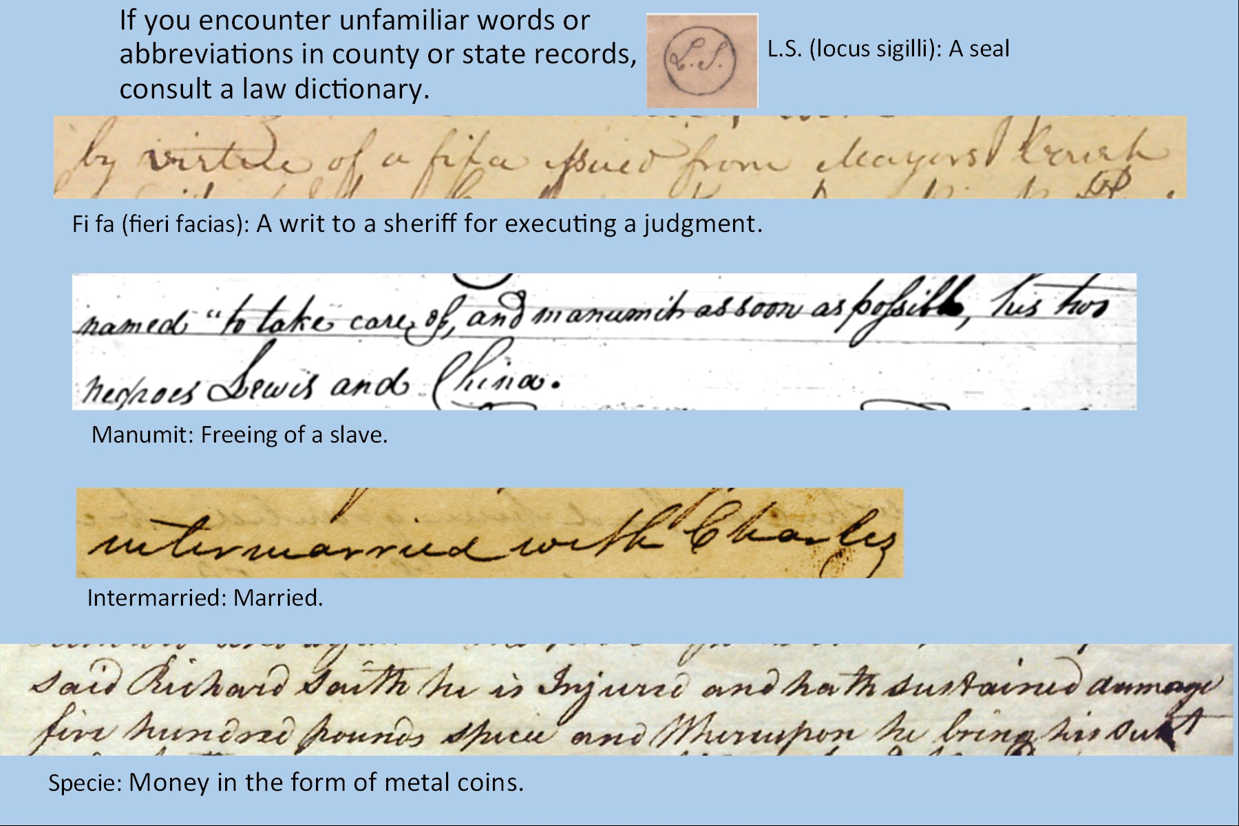 Online Exhibits Georgia Archives Writ laws in ga